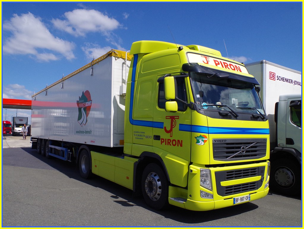 Volvo Fh500 Globetrotter Transports Jean Piron Saint M 233 E
