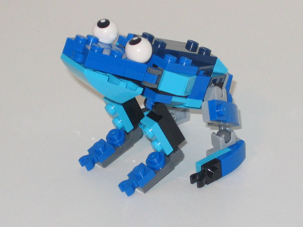 Lego Mixels Frosticons Max Bob The Frog Pieces From