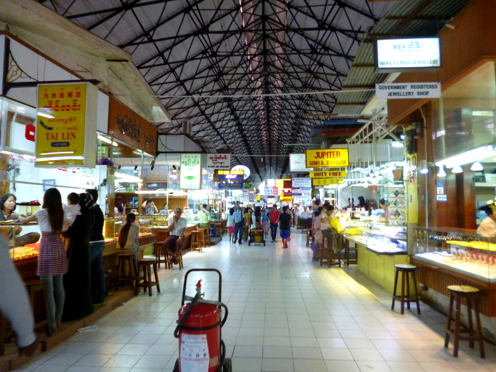 Scotts Market, Yangon