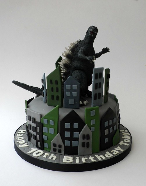 Godzilla Birthday Cake Cake Ideas And Designs
