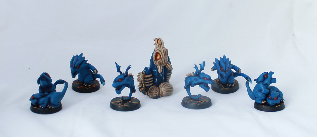 Super Dungeon Explore Dragon's Clutch Painted