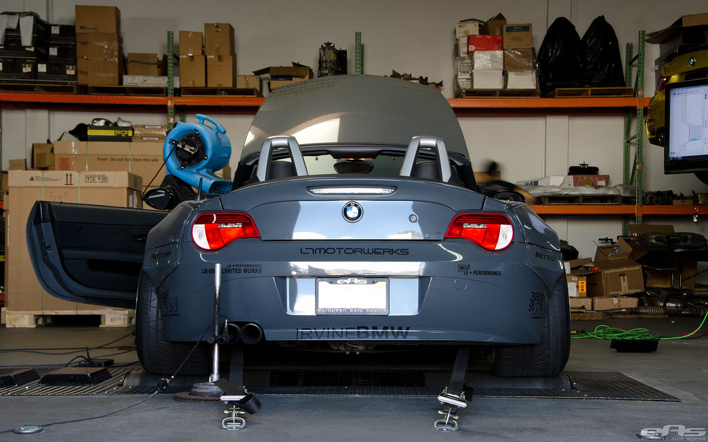 Battleship Gray Bmw E85 Z4 Ess Supercharger Bbs Lm