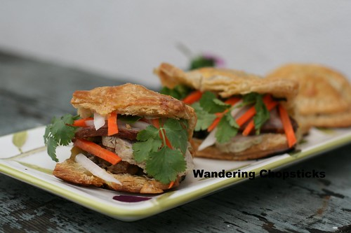 Banh Pa Te So Nhan Banh Mi (Vietnamese Pate Chaud (French Hot Pastry Pie) with Sandwich Fillings) 9