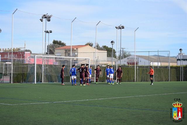 E.F.B. Cadete C contra Fundación de Albacete Balompie