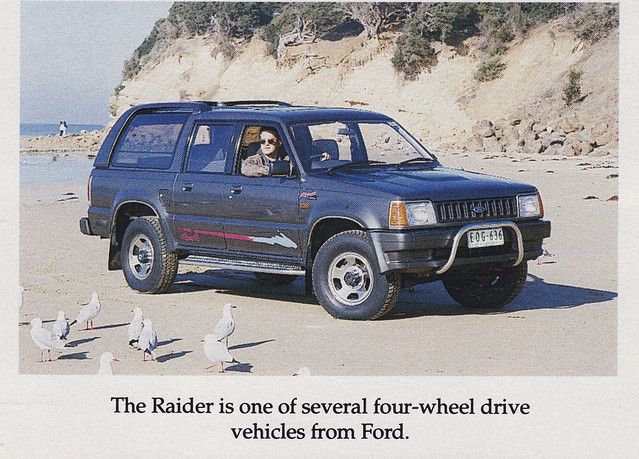 Here is the ford Raider, an Australian version of the Mazda Proceed.