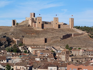 Imagen panorámica de Molina de Aragón (Guadalajara)