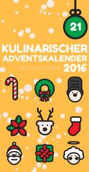 Kulinarischer Adventskalender 2016 - Tuerchen 21