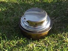 Tatonka simmer ring on the military trangia burner by Alan 13-7