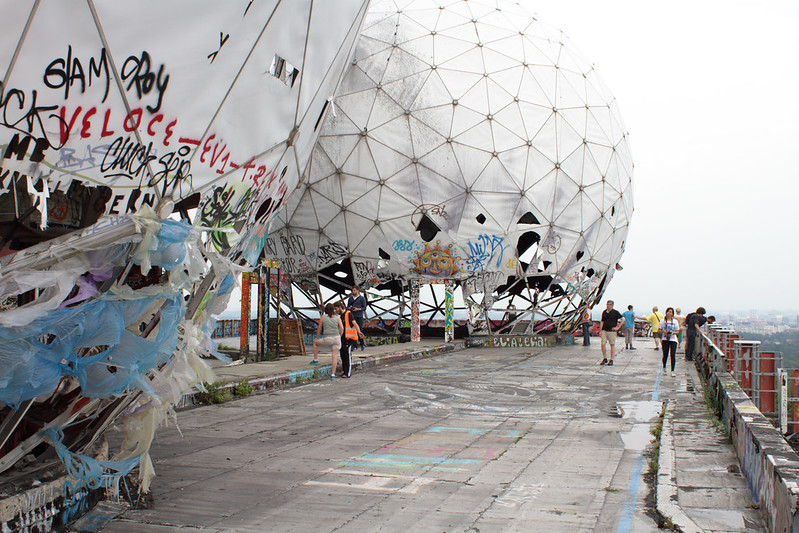 Teufelsberg, Berlin. Photo (c) Suzie Blackman