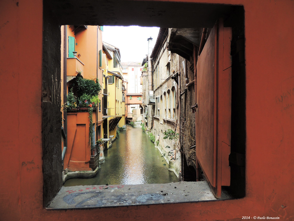 Canale di reno canale delle moline in bologna via piella flickr - Bologna finestra sul canale ...
