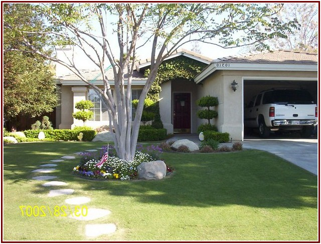 Landscaping Ideas Front Yard Mobile Hometa : Fast design landscaping ideas for front yard of a mobile home
