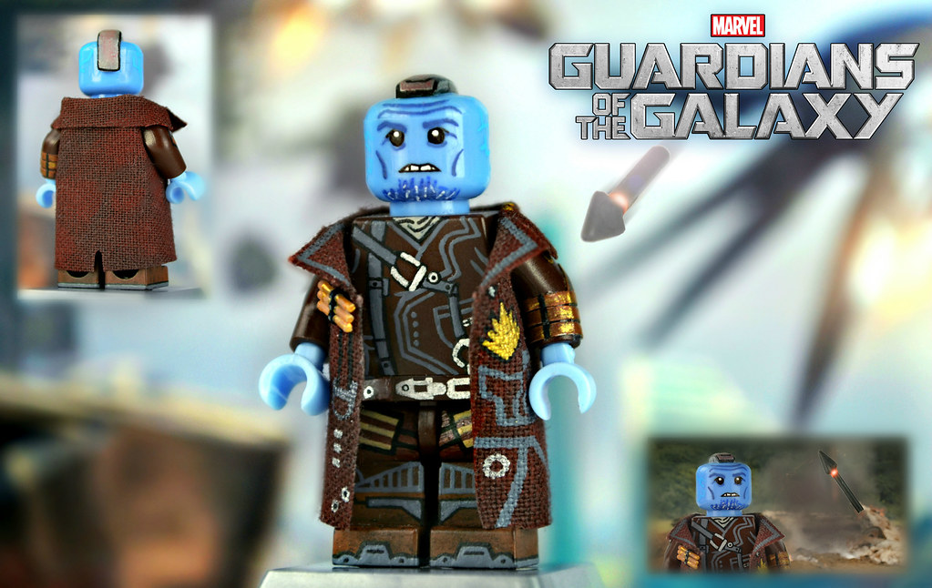 Lego Guardians Of The Galaxy Yondu Udonta Of All The
