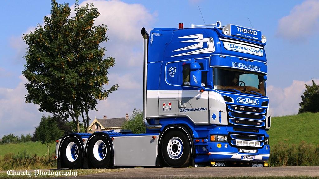 Elytrans Line Thermo Scania V8 Tom 225 Chmelař Flickr