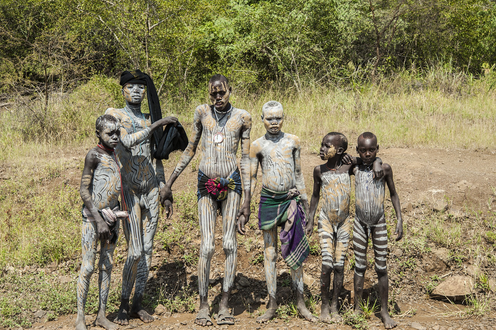 Tribe Body Painting