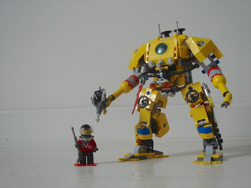 Lego How To Build A Robot Suit