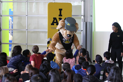 Invictus Games visit to Norma Rose Point Elementary