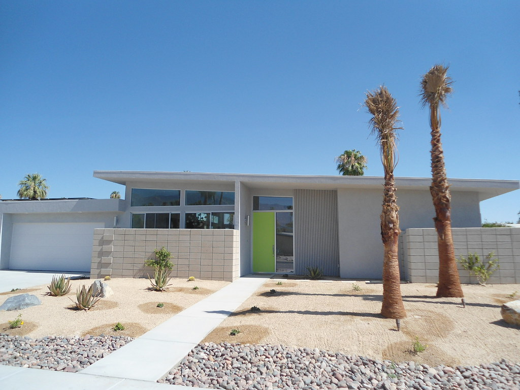 Palm Springs Mid Century Modern Homes Built New On Sunny D
