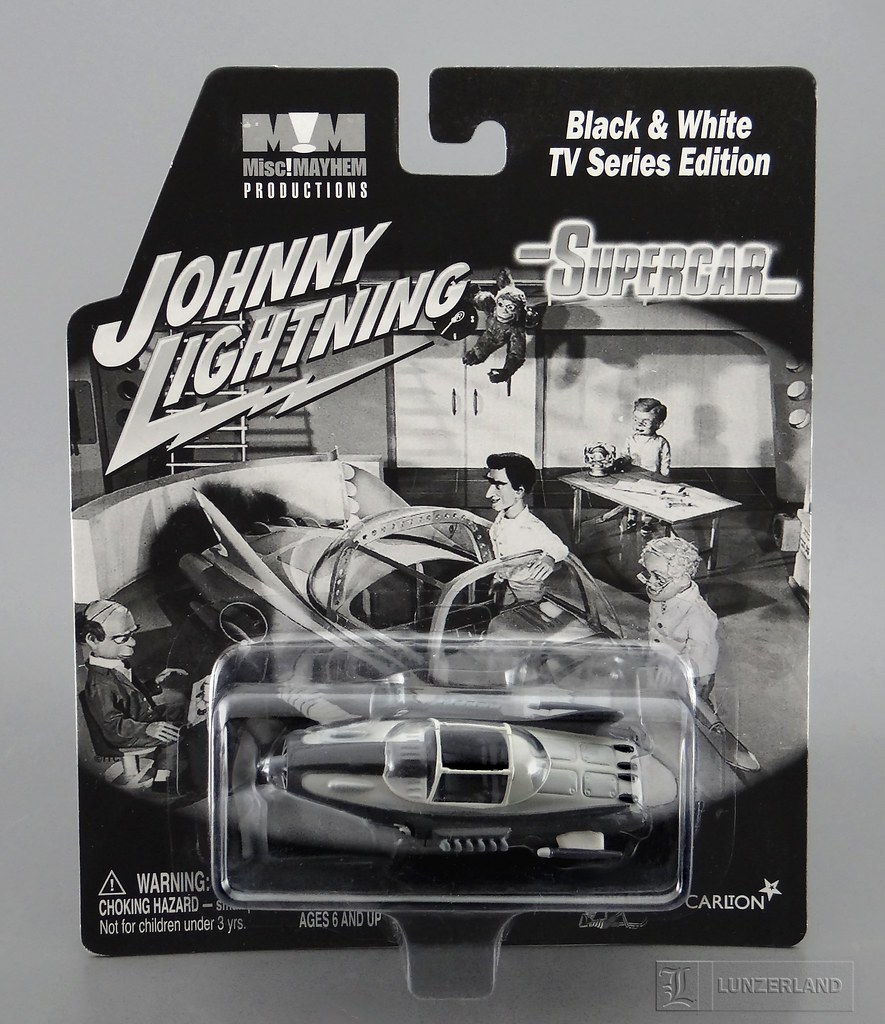 Gerry Anderson Supercar Black Whitetv Series Edition Flickr