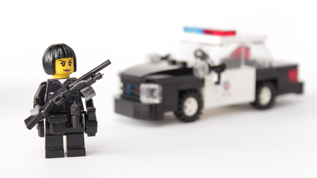 Lego Lapd Patrol Officer Lapd Police Officer M Brown