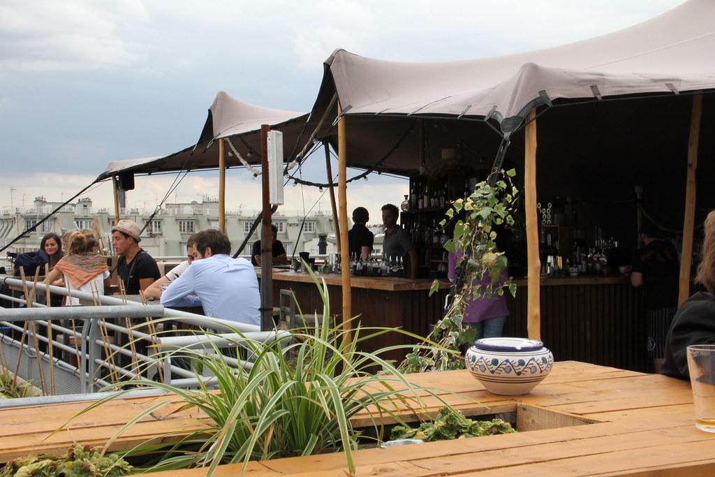 paris le perchoir rooftop bar n k flickr. Black Bedroom Furniture Sets. Home Design Ideas