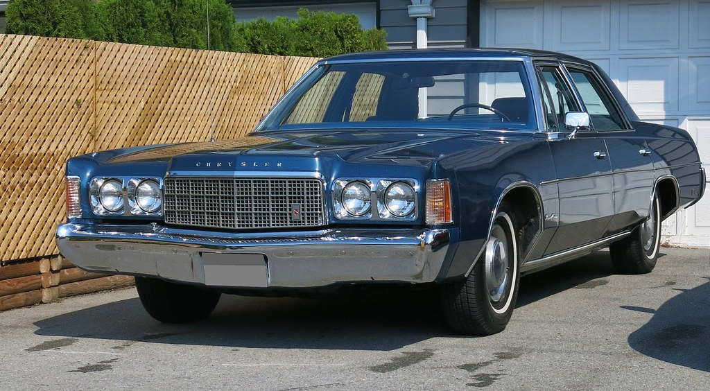 1974 Chrysler Newport Custom 4 Door Sedan Custom Cab