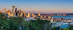 Seattle, Golden Hour