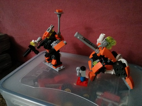 Beginnings of orange company. Direct fire chub and artillery scrambler. | by hackedhead