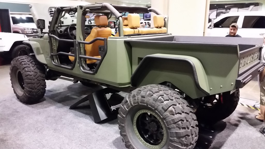Jeep Wrangler Pickup Truck >> Brusier Conversion Jeep Wrangler | 4 Wheel Parts Truck & Jee… | Flickr
