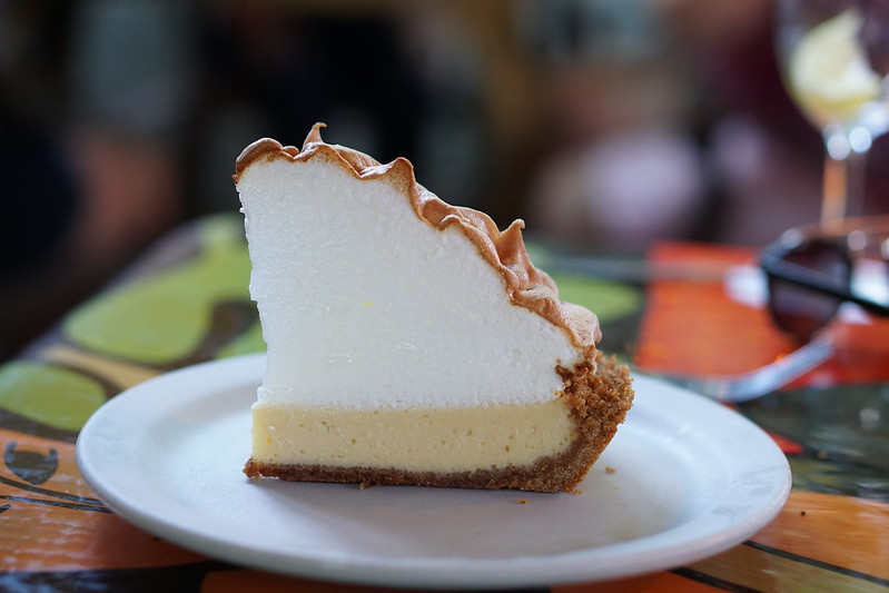 Blue Heaven Key West Florida- Key Lime Pie