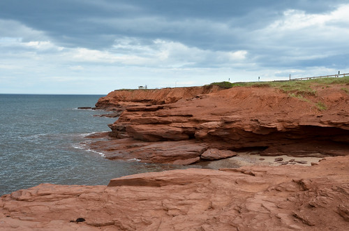Red Rocks of Cavendish Beach