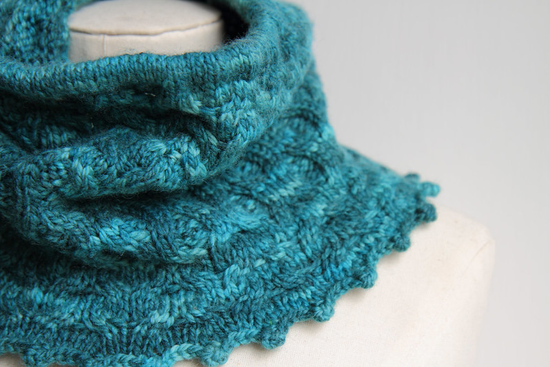 Shipwreck Cove cowl (close up)