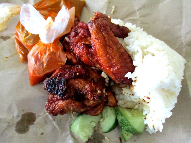 Nasi ayam berempah, Bandong