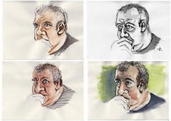 Giovanni (studies) for JKPP by tricolorcat