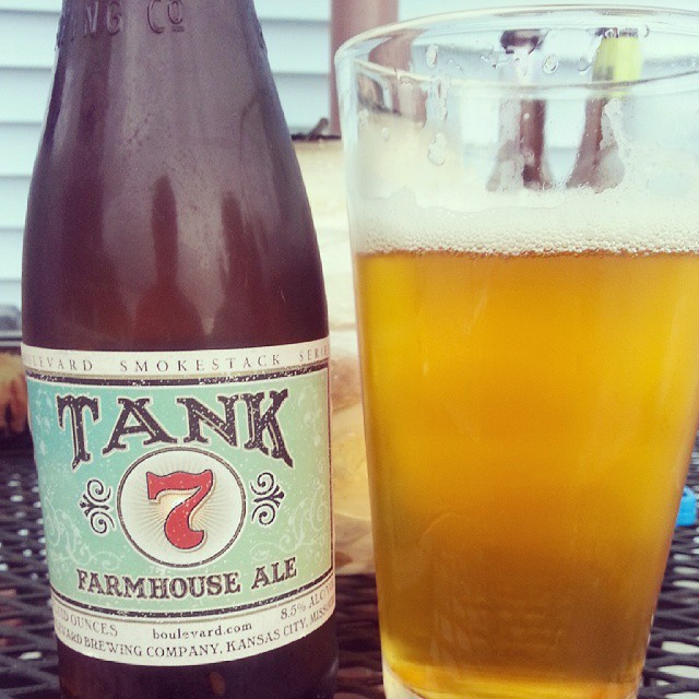 BOULEVARD BREWING PANY TANK 7 Farmhouse ale It is a B…