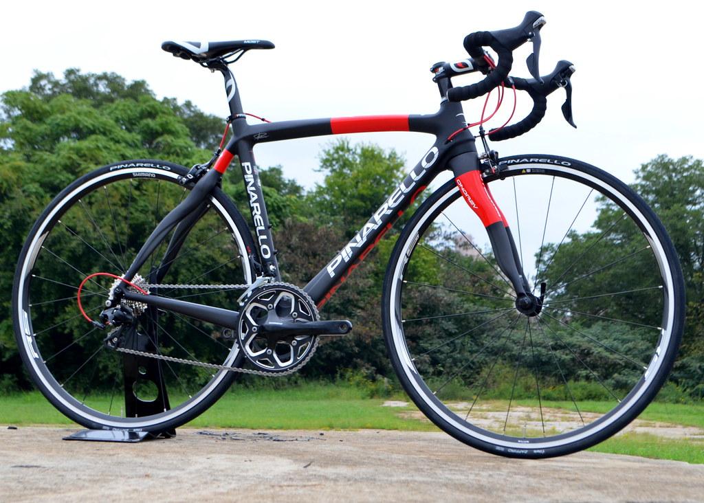 Pinarello razha 928 black red matte gloss 2015 glory cycles flickr