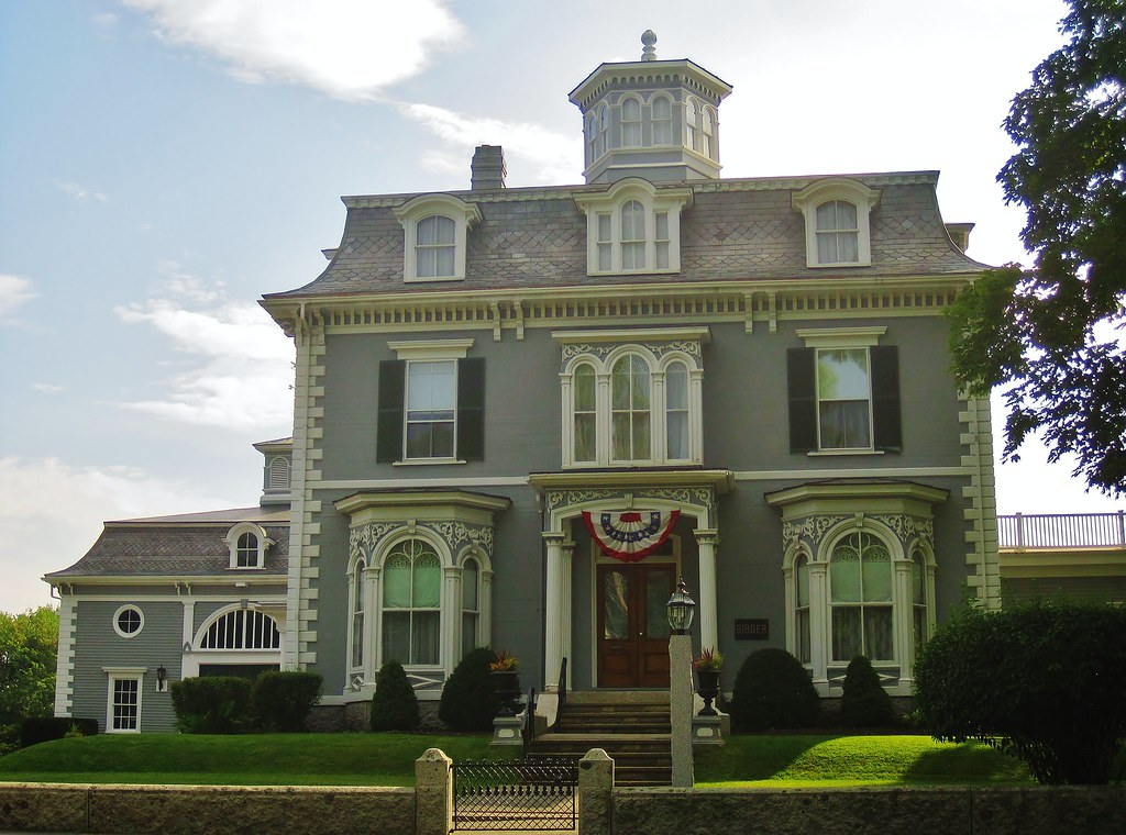 George Wise House/Bibber Memorial Chapel, Kennebunk, ME. Built 1868. Photo credit Doug Copeland, flickr.