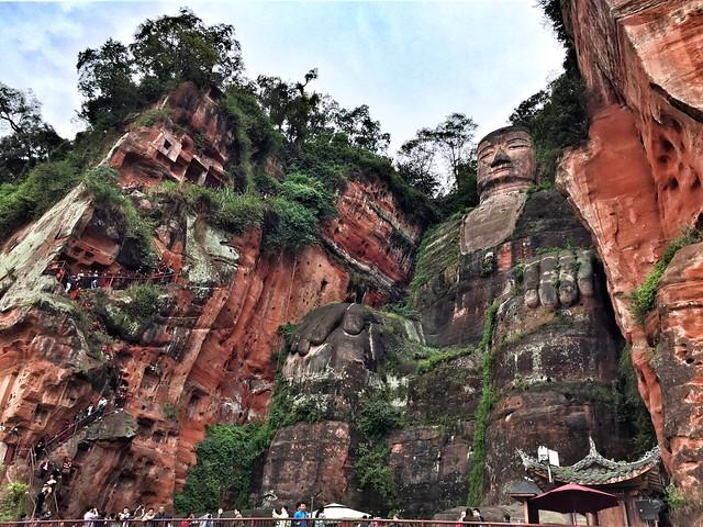 Gran Buda de Leshan (Yunnan, China)