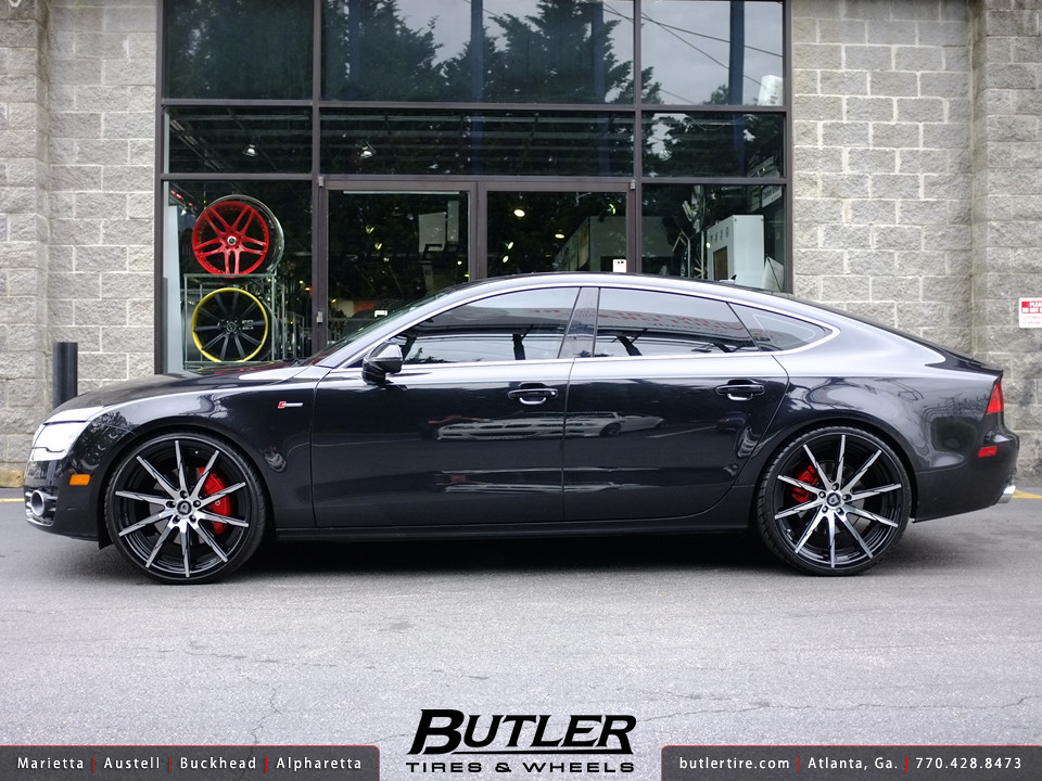 Audi A7 With 22in Lexani Css15 Wheels Additional Picture