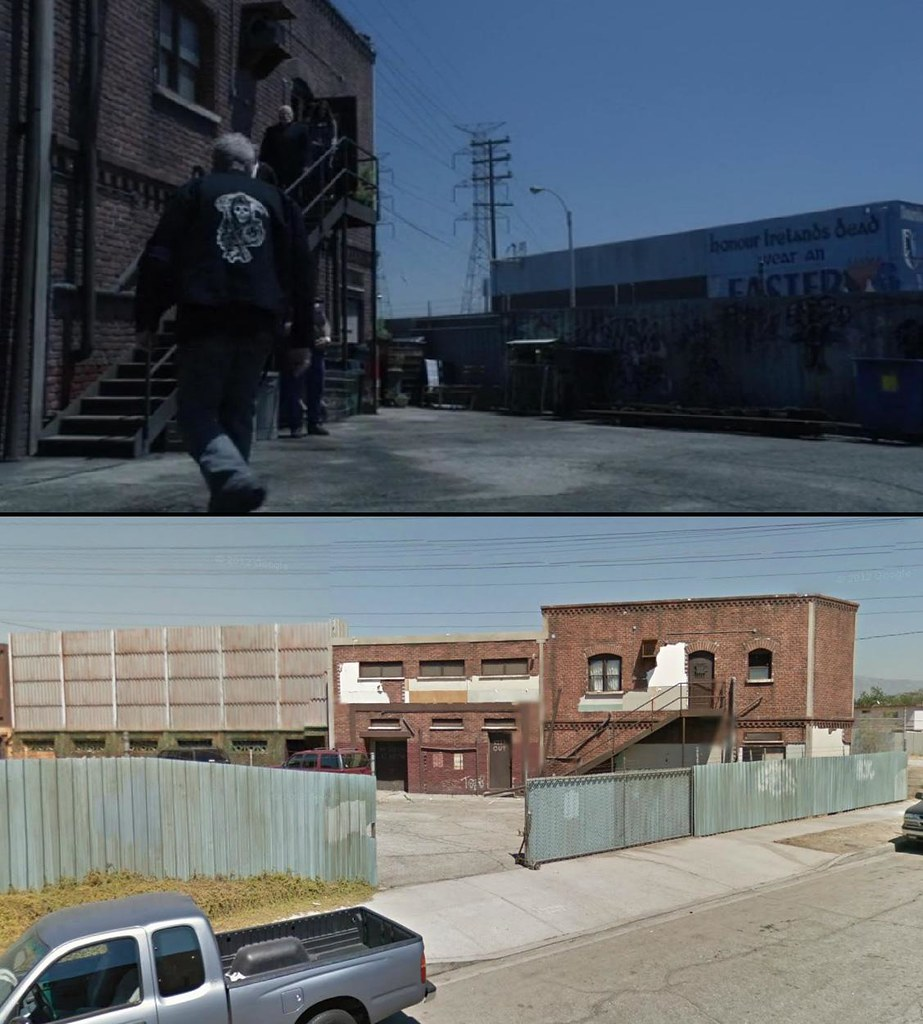 sons of anarchy filming location season 3 in season 3 of