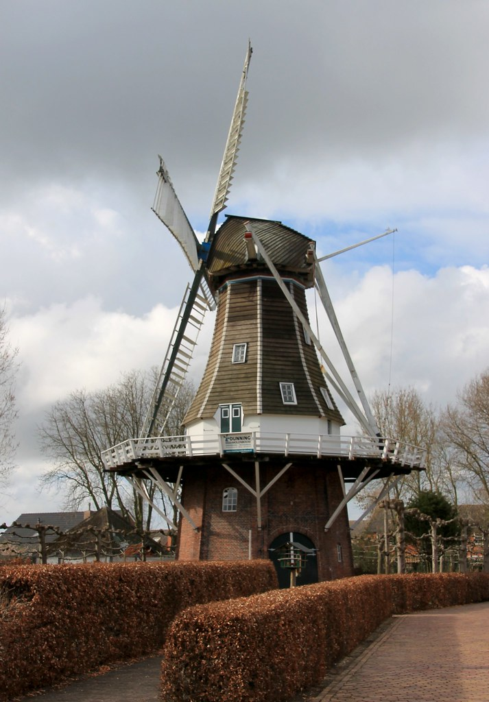 Nederland - Groningen - Harkstede - Stel's Molen - 1851 ...