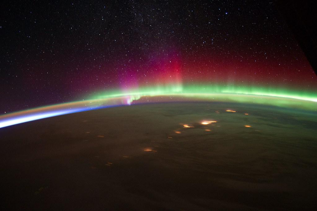 Archive: Aurora Over Alaska (NASA, International Space Sta ...
