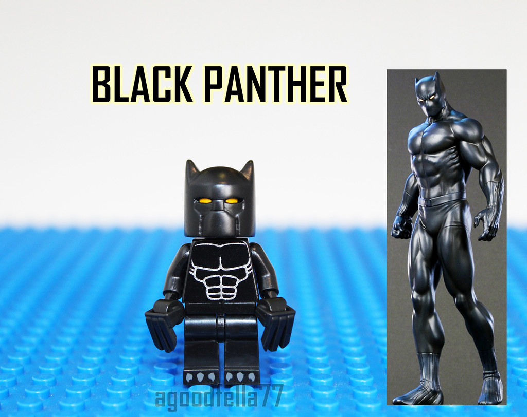 [MOC] [CUSTOM] Black Panther v.2 | instagram: instagram ...