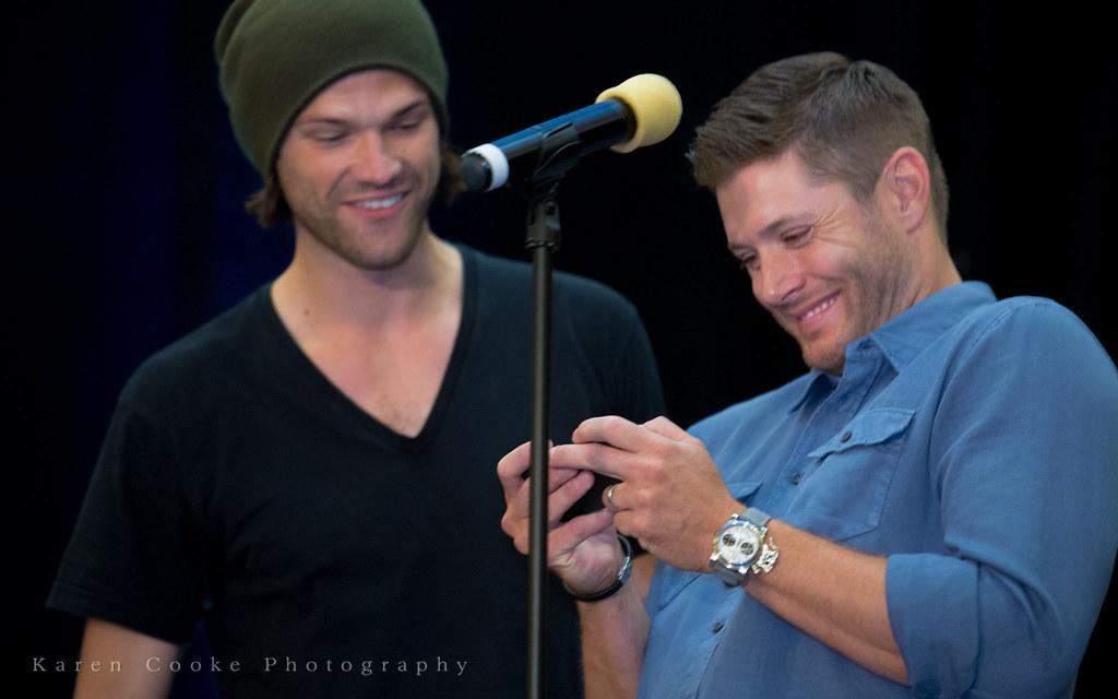 Jensen Ackles makes hi...