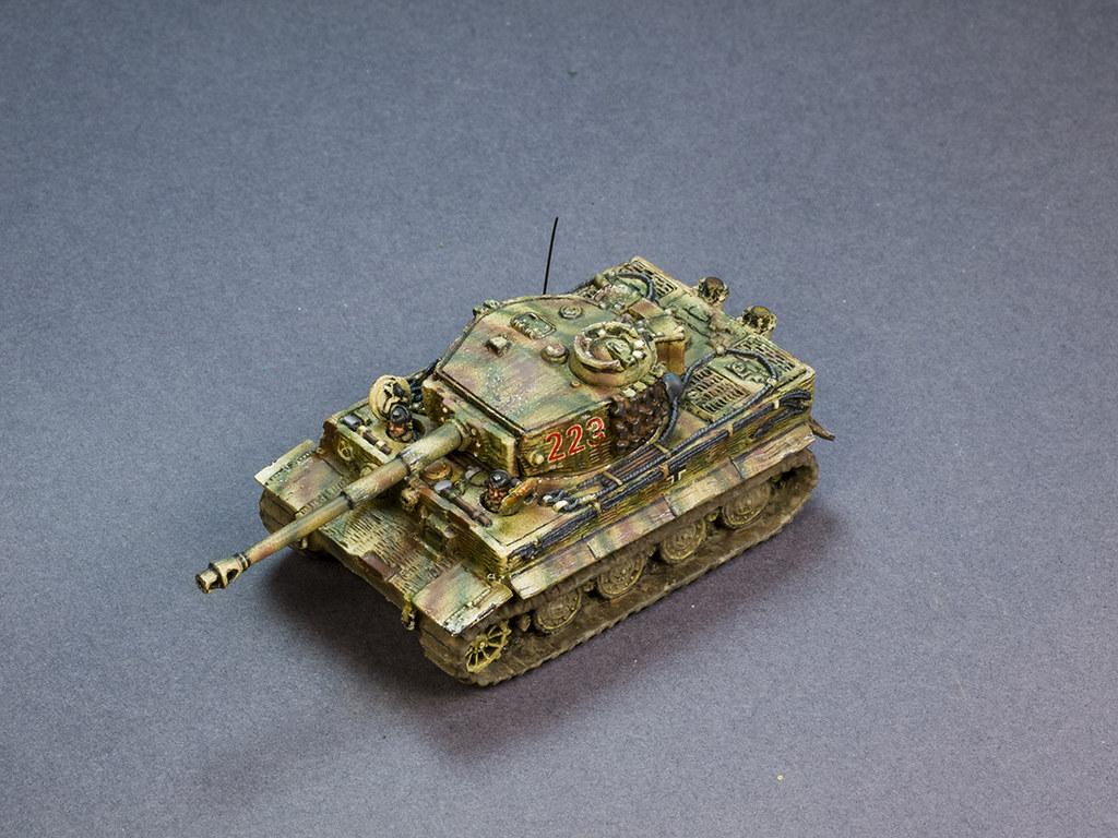 Flames of War Tiger Tank Brandt