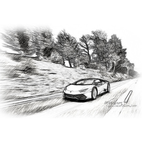 lamborghini huracan pencil drawing flickr photo sharing. Black Bedroom Furniture Sets. Home Design Ideas
