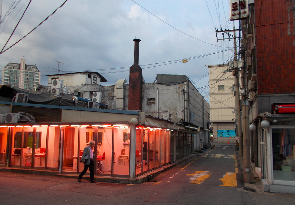 report about light district seoul