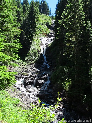 Waterfall along the Heliotrope Divide Trail, Mount Baker-Snoqualmie National Forest, Washington