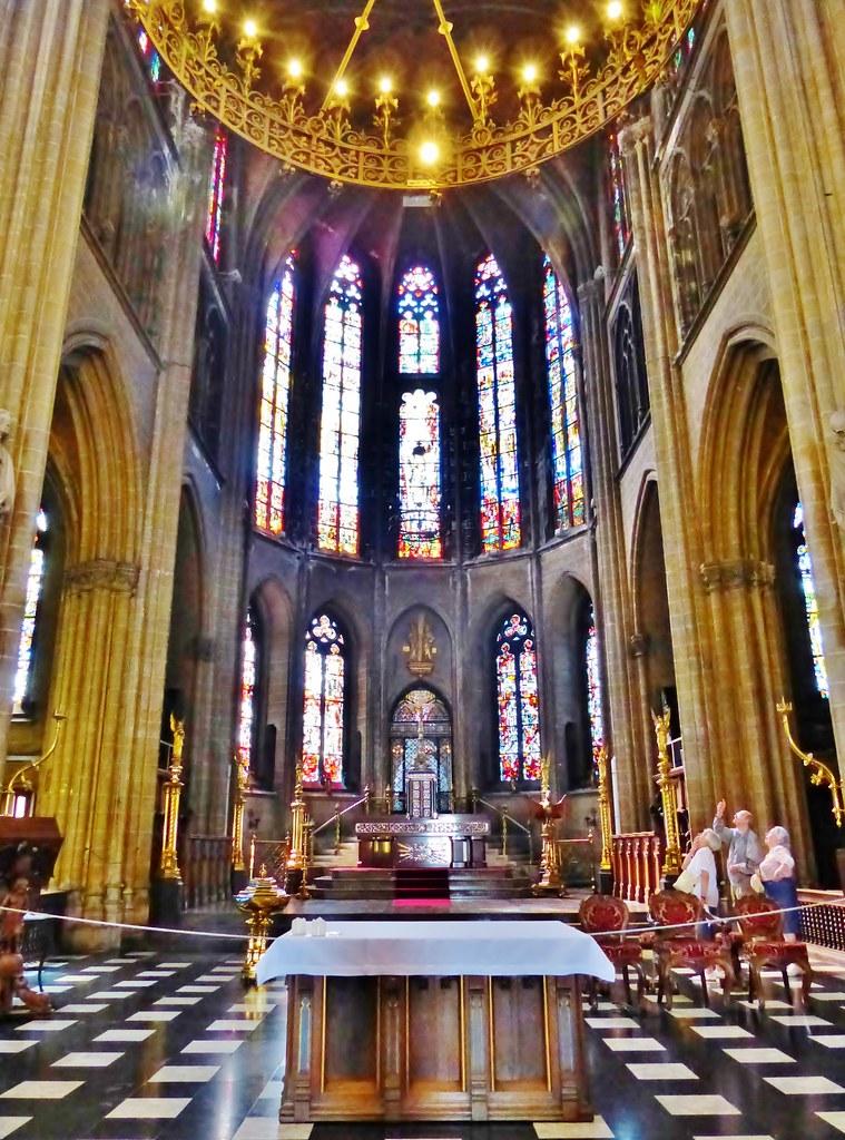 interieur 02 sint petrus en pauluskerk oostende flickr