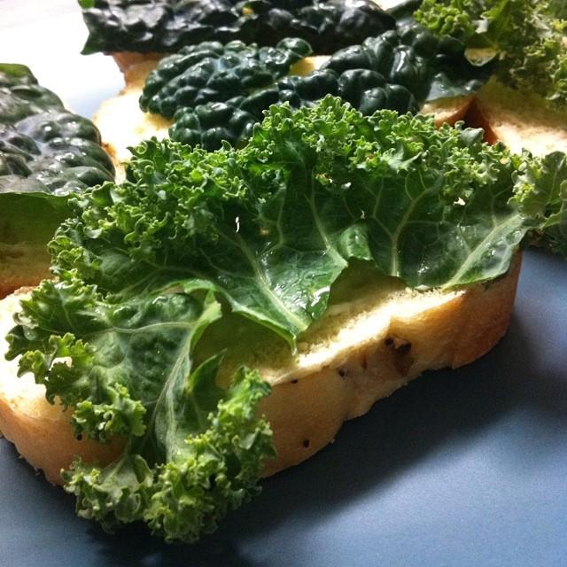 Kale sandwiches  jessica mullen  Flickr
