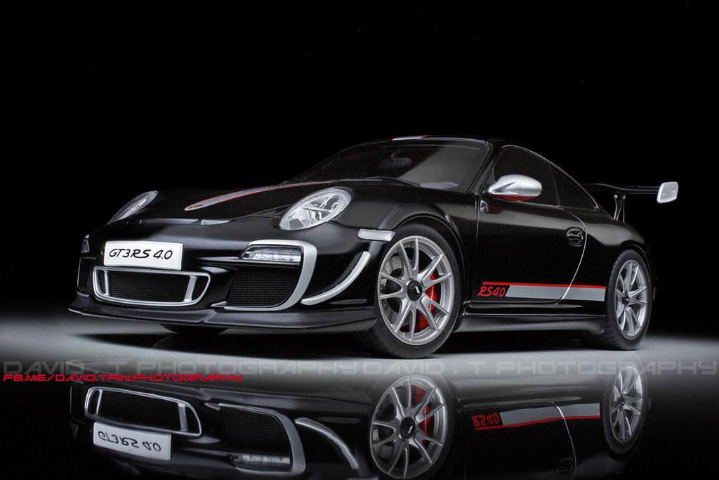 black edition porsche 911 997 gt3 rs 4 0 autoart 1 1. Black Bedroom Furniture Sets. Home Design Ideas